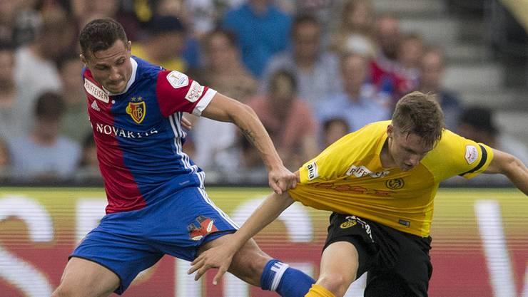 Der FC Basel spielt heute im Schweizer Cup gegen die Berner Young Boys.