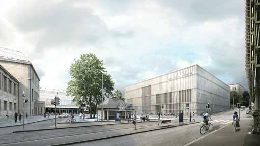 Erweiterungsbau des Zürcher Kunstmuseums: 2017 soll der Neubau öffnen