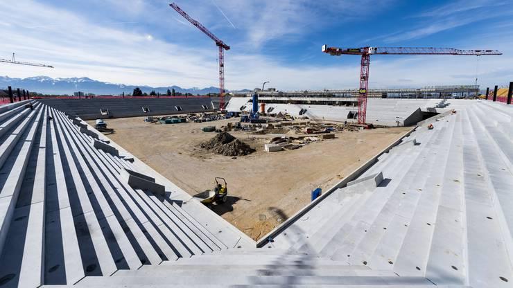 Das neue Lausanne-Stadion hat eine Kapazität von 12'000 Sitzplätzen.