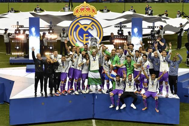 Real gewinnt gegen die Juve die Champions League.