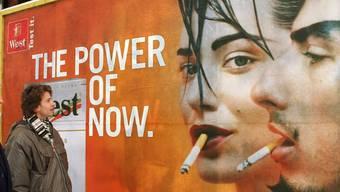 Werbeverbote für Tabak werden ausgedehnt. (Symbolbild)