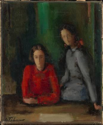 Eine Wieder-Entdeckung: Johann von Tscharner, Zwei Mädchen.