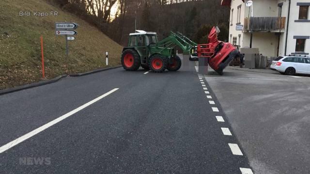26-Jähriger verletzt Familie mit Traktor