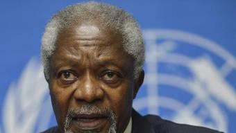Der Syrien-Gesandte der UNO und der Arabischen Liga: Kofi Annans Vorschlag auf Verschiebung wurde unterstützt (Archiv)
