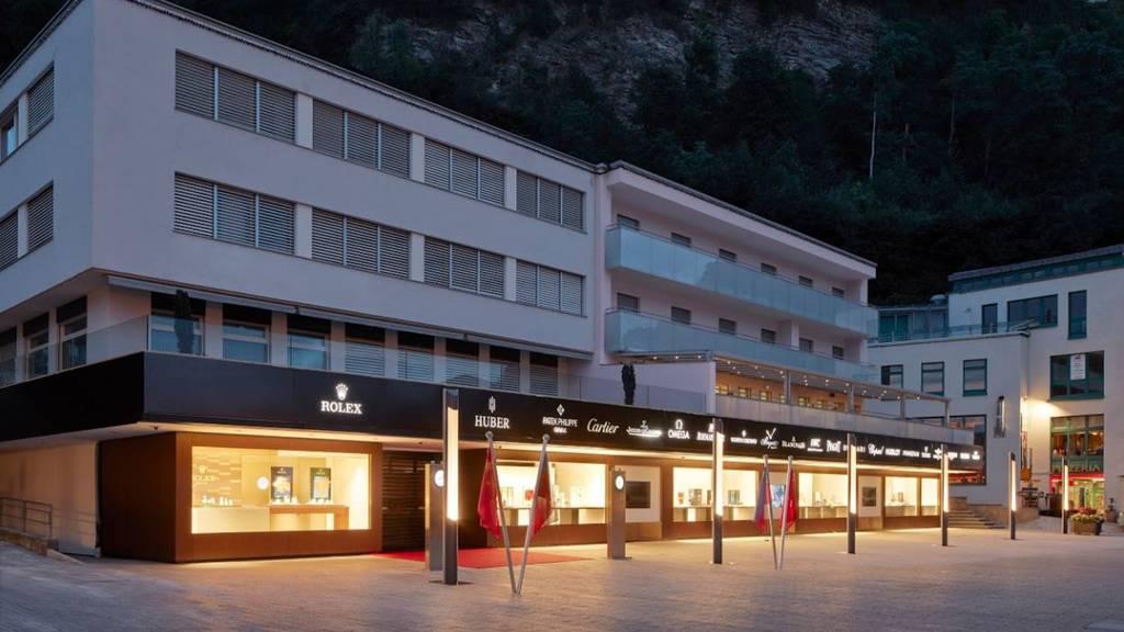Rammbock-Einbruch in Juweliergeschäft in Vaduz