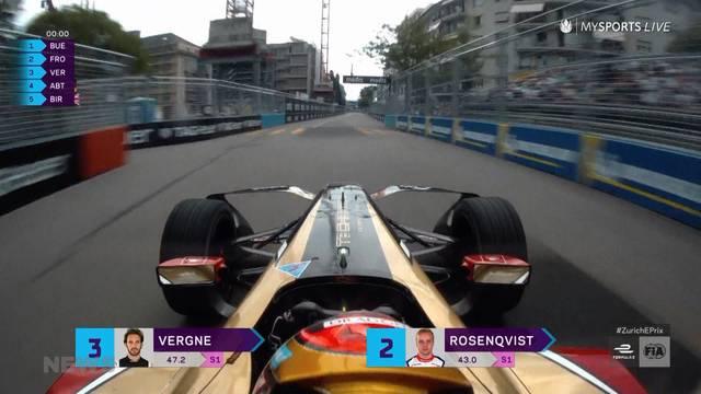 Formel-E-Spektakel: Fan verunglückte für bessere Sicht