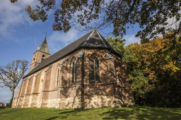 Die Dorfkirche im beschaulichen Örtchen Ruinerwold.