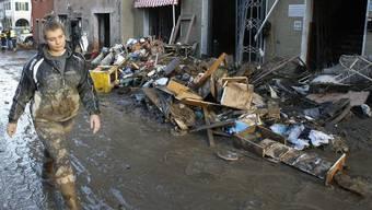 Chaos im ligurischen Borghetto Di Vara