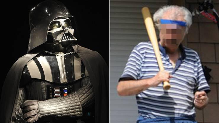 Der «Samurai» aus Baden bezeichnet sich als Kämpfernatur mit Killerinstinkt. Im Blog tauchte er als Lord Darth Vader aus «Krieg der Sterne» auf.