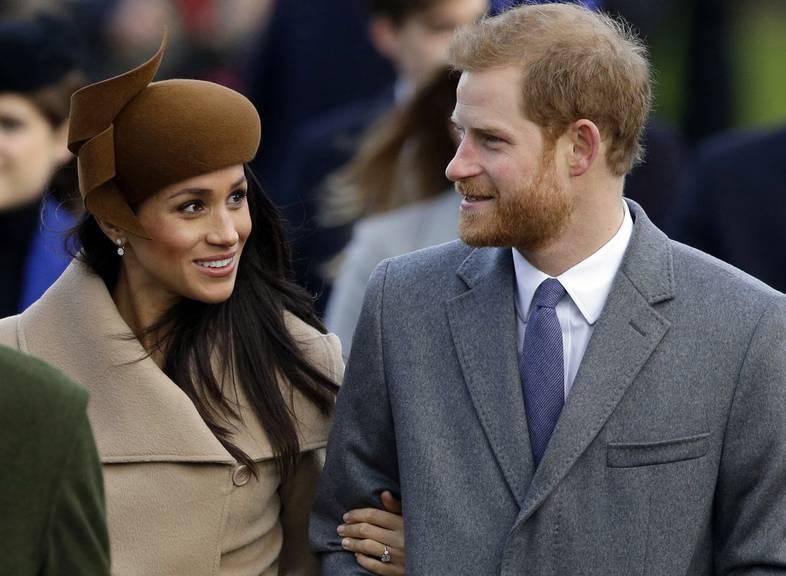 Die Welt feiert dieses Wochenende die Hochzeit von Meghan und Harry. (Bild: Keystone/AP/Alastair Grant)