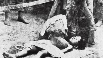 Erster Weltkrieg: Armenisches Opfer in der türkischen Provinz Konya (Archiv)