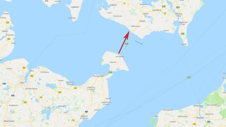 Der Fehmarnbelt liegt zwischen Deutschland und Dänemark