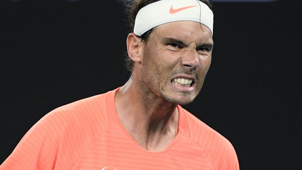 Trotz lädiertem Rücken blieb Nadal in der ersten Turnierwoche ohne Satzverlust