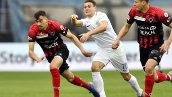 Benjamin Kololli ist der Mann der Stunde beim FC Zürich und war beim 2:1 gegen Neuchâtel Xamax der Matchwinner für das Heimteam