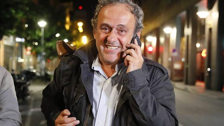 Lässt nicht locker: Der umtriebige Michel Platini will wieder auf die Fussballbühne zurückkehren.