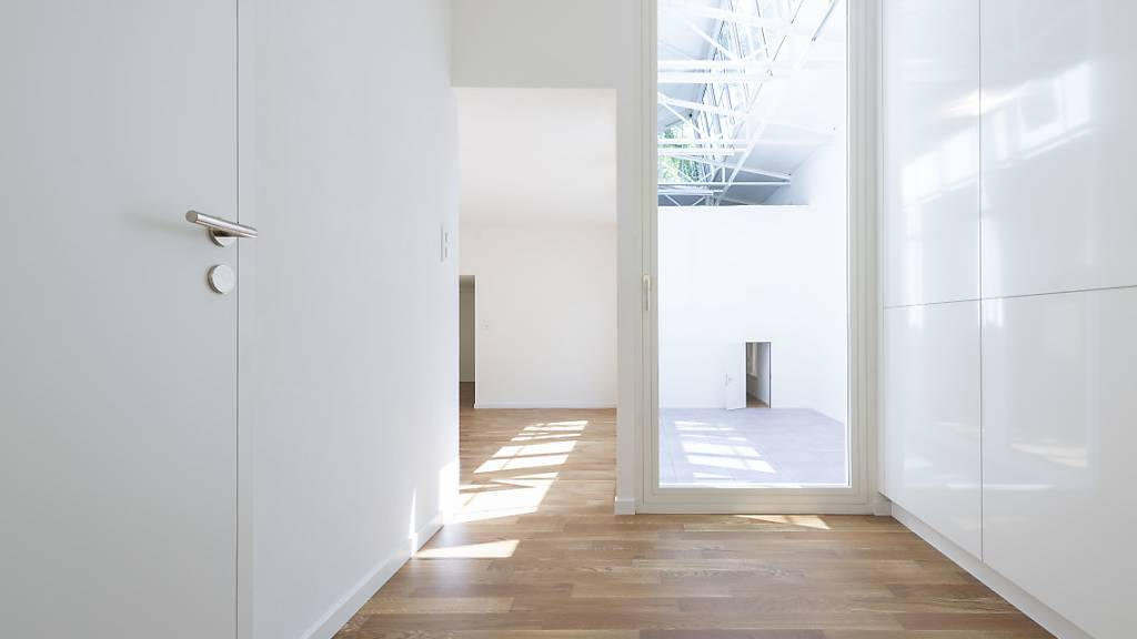 Moderater Anstieg leer stehender Wohnungen