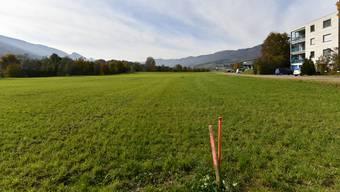 Auf diesem Grundstück am Blochenmoosweg in Balsthal will die Centravo AG ein Produktions- und Lagergebäude erstellen.