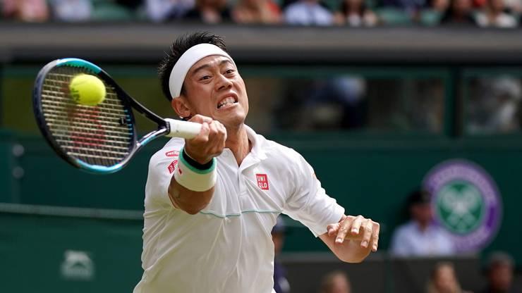 Nishikori führt zwischenzeitlich gegen Federer.
