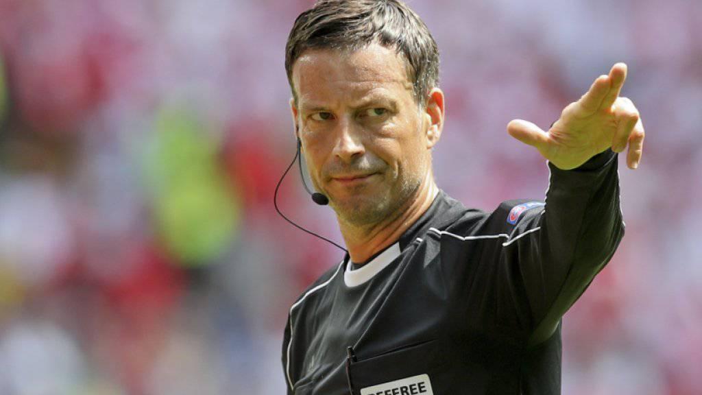 Schiedsrichter Mark Clattenburg