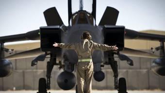 Britischer Tornado im afghanischen Kandahar zur NATO-Unterstützung