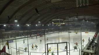 Gemäss EHCO-Präsident Savoldelli droht die Südrampe im Stadion Kleinholz eine Saison gesperrt zu bleiben.