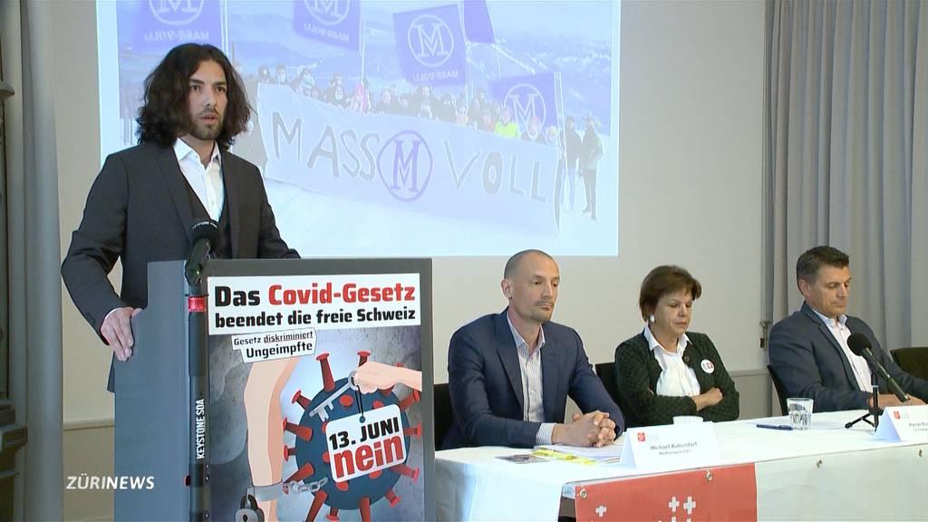 «Freunde der Verfassung» lancieren Abstimmungskampf gegen das Covid-Gesetz