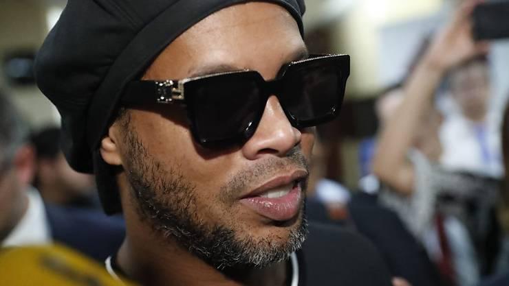 Ronaldinho befindet sich in Paraguay weiterhin unter Hausarrest