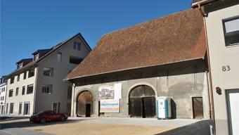 Die «Rösslischüüre» soll zu einem Gewerbehaus werden. Das neue Baugesuch für die Sanierung ist bereits eingerichtet.