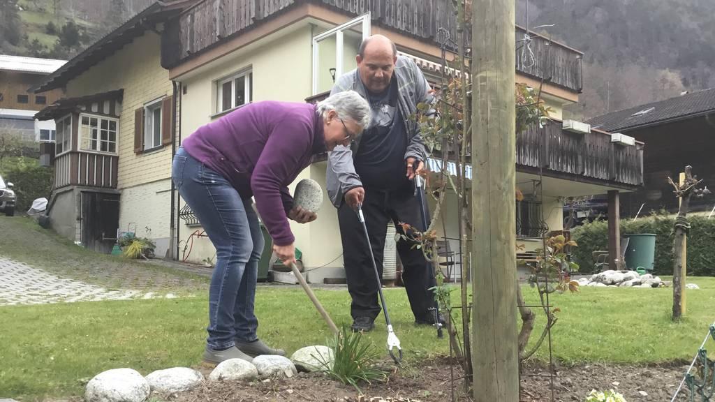 Hans und Theres Kieliger aus Silenen