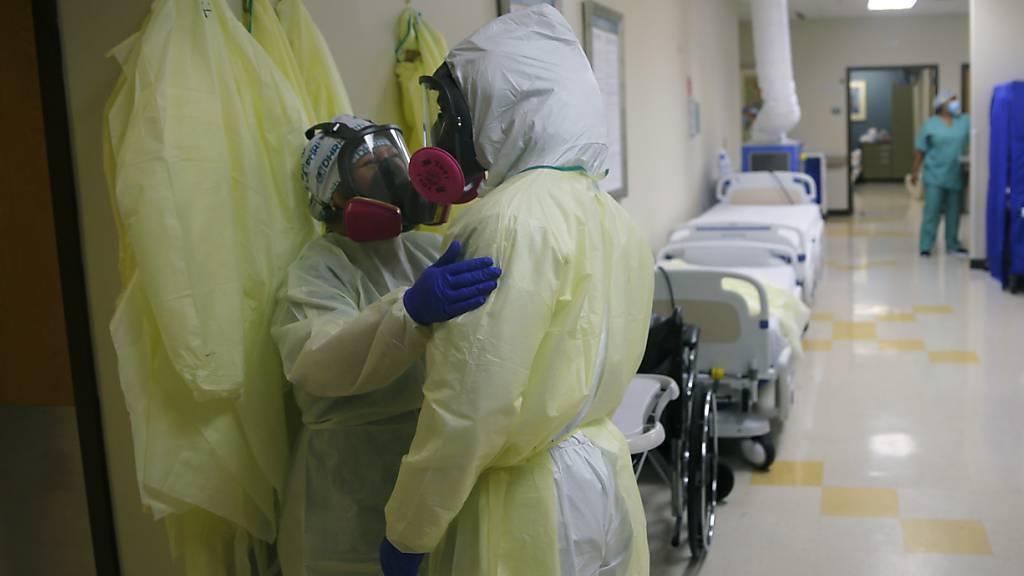 USA melden knapp 53.000 Neuinfektionen - Zahl womöglich verzerrt