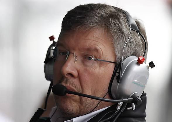Ross Brawn: Vertrauer der Familie Schumacher. (Archiv)