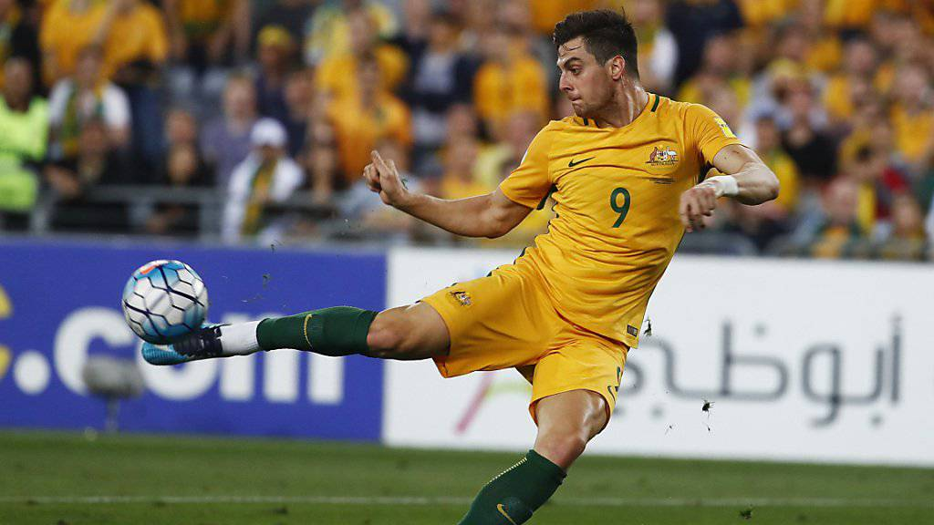 Einer von vier WM-Teilnehmern aus der Super League: der Australier Tomi Juric