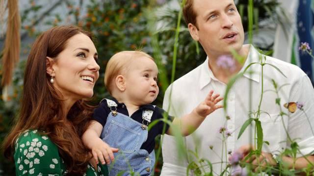 Happy Birthday: William, Catherine und Geburtstagsprinz George