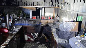 Brand in einem Restaurant in Birsfelden