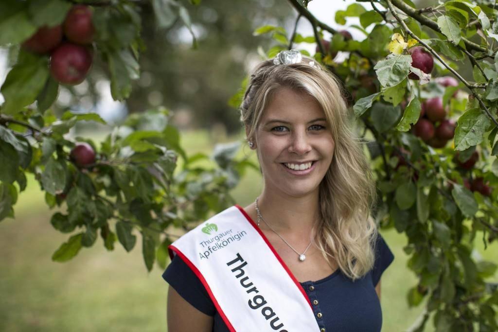 Apfelkönigin 2016 Angela Stocker