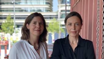 Rebekka Fässler (links) und Murielle Perritaz sind die neuen Co-Direktorinnen der Stadtzürcher Kulturabteilung.