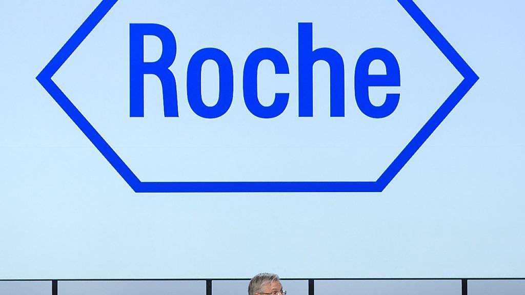Roche-Präsident Christoph Franz kann sich ob dem guten Halbjahr freuen. (Archiv)