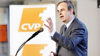 """«Die vier Kantone Zürich, Bern, Waadt und Aargau seien """"für den Wähleranteil der CVP tatsächlich sehr wichtig"""", sagt CVP-Präsident Gerhard Pfister."""