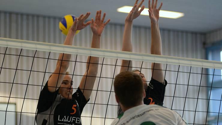 Laufens Block mit Markus Fritschi und Pierre Brem.