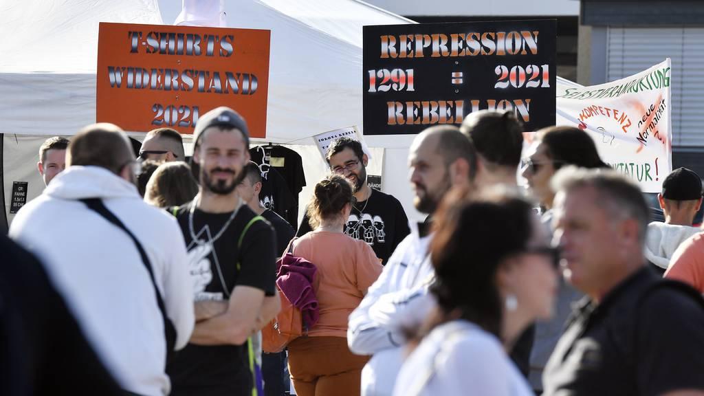Bundesratsbesuch in Luzern: Massnahmen-Skeptiker drohen Berset