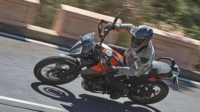 Das Abenteuer im Namen: Die 390 Adventure ist von der Motorleistung das ideale Einsteigermotorrad.