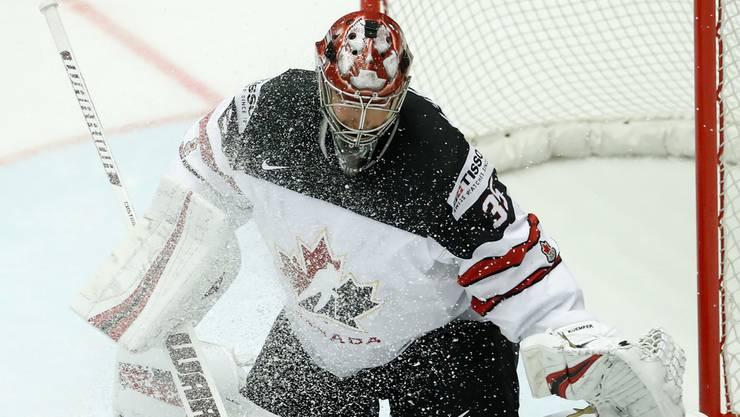 Torwart Darcy Kuemper gehört zu den Schwachstellen der Kanadier.