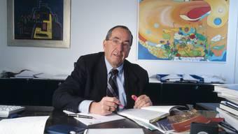 Am Montag ist Silvio Borner im Alter von 79 Jahren verstorben. Er war einer der bekanntesten Schweizer Ökonomen. (Archivbild)