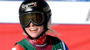 Lara Gut ist in Form: 1,18 Sekunden Vorsprung im Abschlusstraining