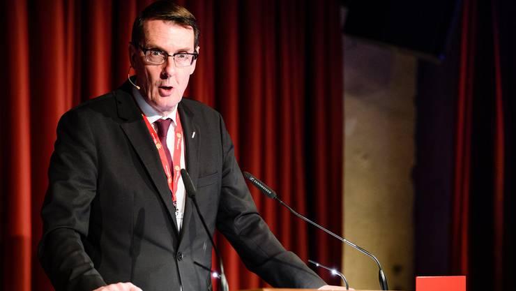 Hotelleriesuisse-Chef Andreas Züllig beobachtet die Euro-Franken-Entwicklung mit Genugtuung. (Archiv)