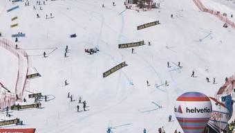 Die WM-Pisten in St. Moritz