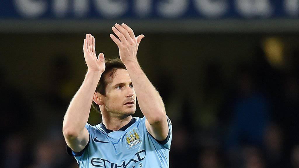 Ein letzter Applaus. Frank Lampard verabschiedet sich bald aus New York