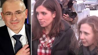 Pussy Riot wollen mit Chodorkowski für Menschenrechte kämpfen