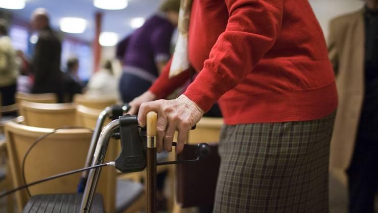 In Altersheimen gelten mitunter Zugangsbeschränkungen.