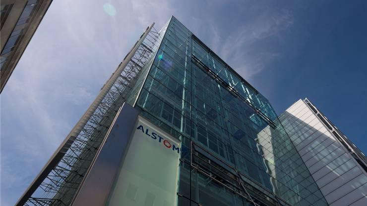 Der Hauptsitz von Alstom Schweiz ist in Baden, hier arbeiteten 2015 noch rund 4200 Menschen.